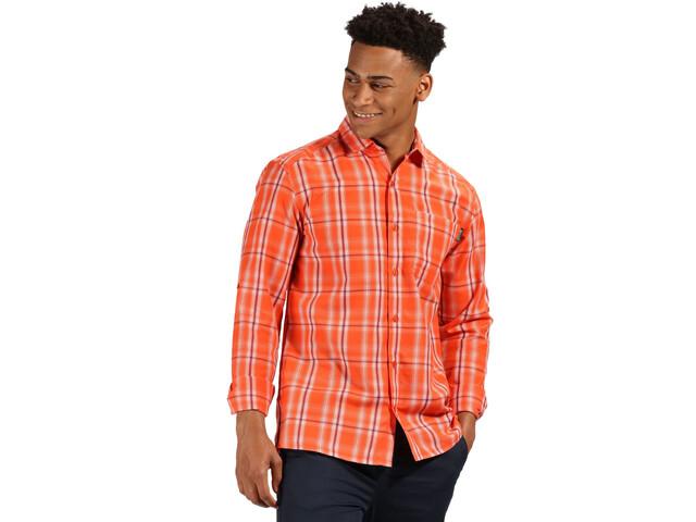 Regatta Mindano II LS Shirt Herren blaze orange